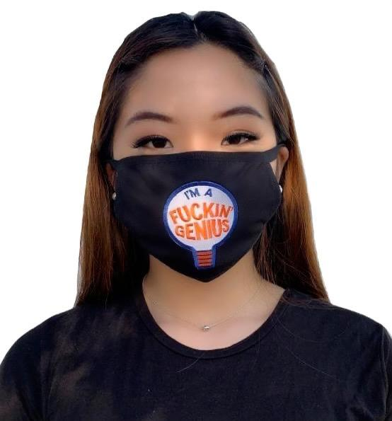 MV Fcks Genius Face Mask- Unisex