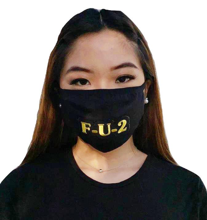 MV Fcks-U-2 Face Mask- Unisex
