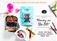 Load image into Gallery viewer, Kids zip-bag with manuka honey MGO 150+