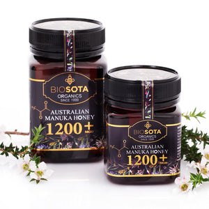 ACO Manuka Honey MGO 1200+ NPA/ULF 25+ 250g 8.8oz