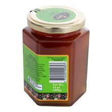 Load image into Gallery viewer, mgo 100 hexagon manuka honey jar