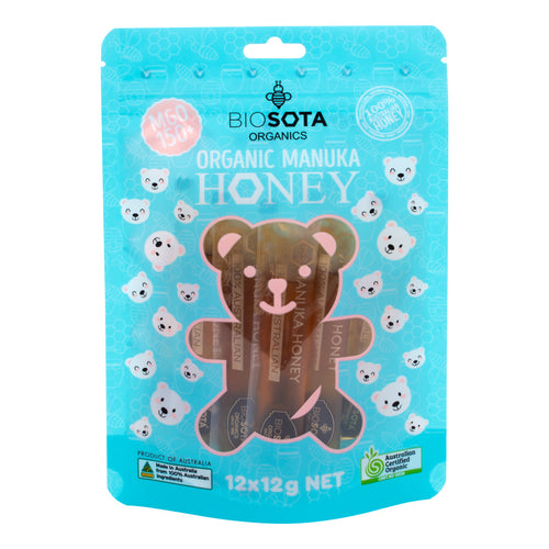 Kids zip-bag with manuka honey MGO 150+