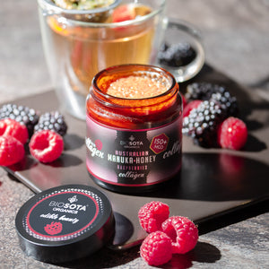 Manuka honey MGO 150+ collagen + Raspberries BioSota