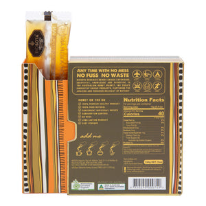 MANUKA HONEY STRAWS (MGO 150+), 12g N.W, QTY 12pcs Biosota