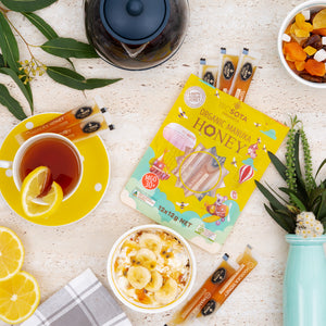 MANUKA HONEY STRAWS (MGO 30+) Kids Zip-Bag