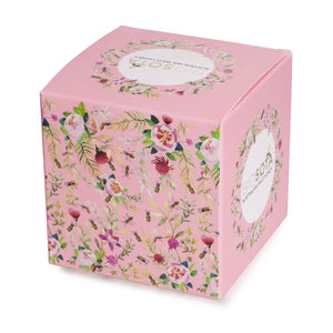 bix pink wild flower honey box