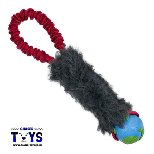 Hand-Held Bungee Faux Fur Tugger