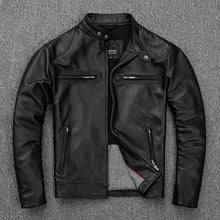 Load image into Gallery viewer, Genuine Leather Jacket