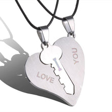 Load image into Gallery viewer, 'Two Make a Whole' Heart Pendant