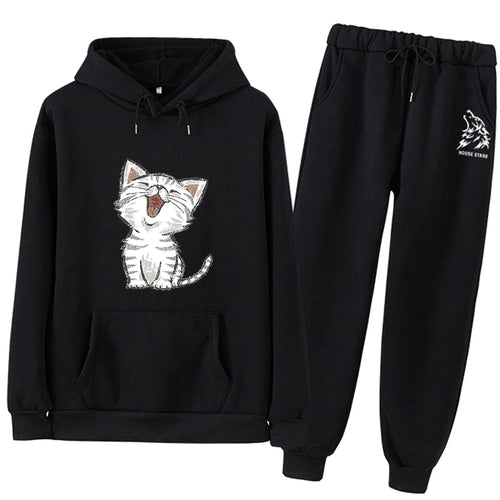 Top And Pant clothes hoodies Set