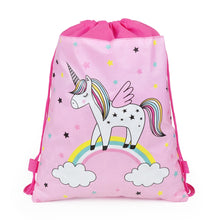 Load image into Gallery viewer, Unicorn Drawstring Bag, Waterproof