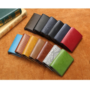 BISI GORO Business ID Credit Card Holder