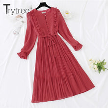 Load image into Gallery viewer, Trytree Spring Dress Vintage