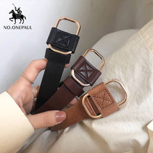 Load image into Gallery viewer, NO.ONEPAUL ladies luxury brand belt