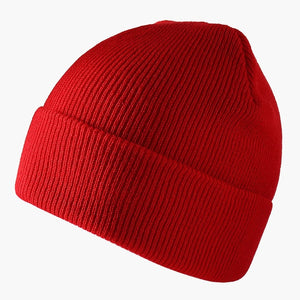Solid Color Knitted Beanies