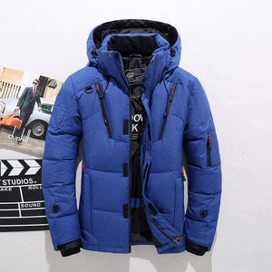 White Duck Thick Down Jacket Size M-3XL