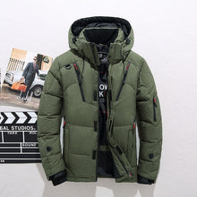 Load image into Gallery viewer, White Duck Thick Down Jacket Size M-3XL