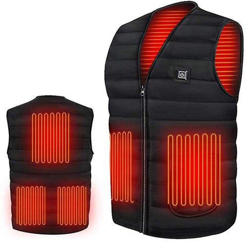 Smart heating Cotton Vest USB Infrared Electric Heating