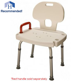 Bath Seat with Back and Suction Feet