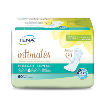 Tena Intimates Moderate Long Pads
