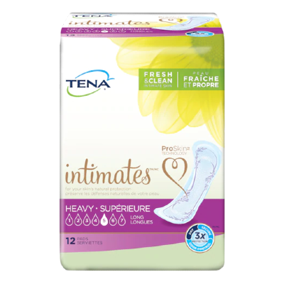 Tena Intimates Heavy Long Pads