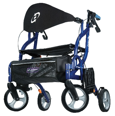 Airgo Fusion F20 2-in-1 Rollator & Transport Chair
