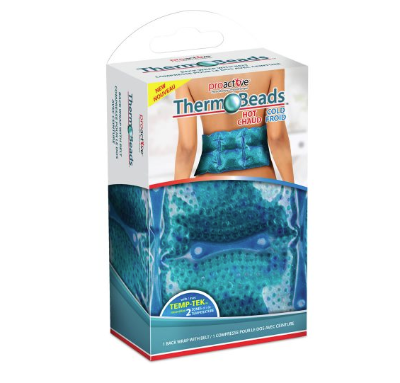 Therm-O-Beads Hot/Cold Gel Back Wrap