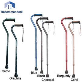 Airgo Comfort Plus Canes with Offset Handle