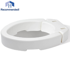 "3.5"" Standard Raised Toilet Seat"