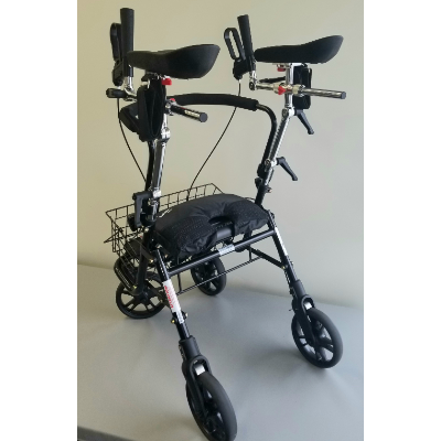 EVO 4 Wheel Walker with Arm Trough System
