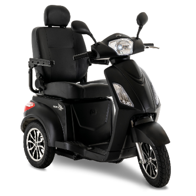 Raptor (Black) 3 Wheel Scooter