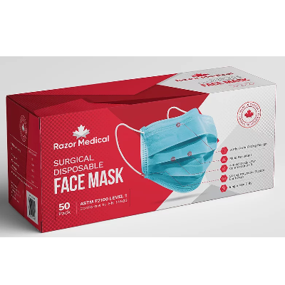 Face Masks - Level 1 ASTM Rating