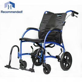 Strongback Excursion 12 Transport Chair with Attendant Brakes