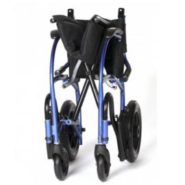 "Strongback Transport Chair 18"" Wheels with Attendant Brakes"
