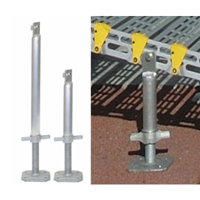 Roll-a-Ramp Support Stands