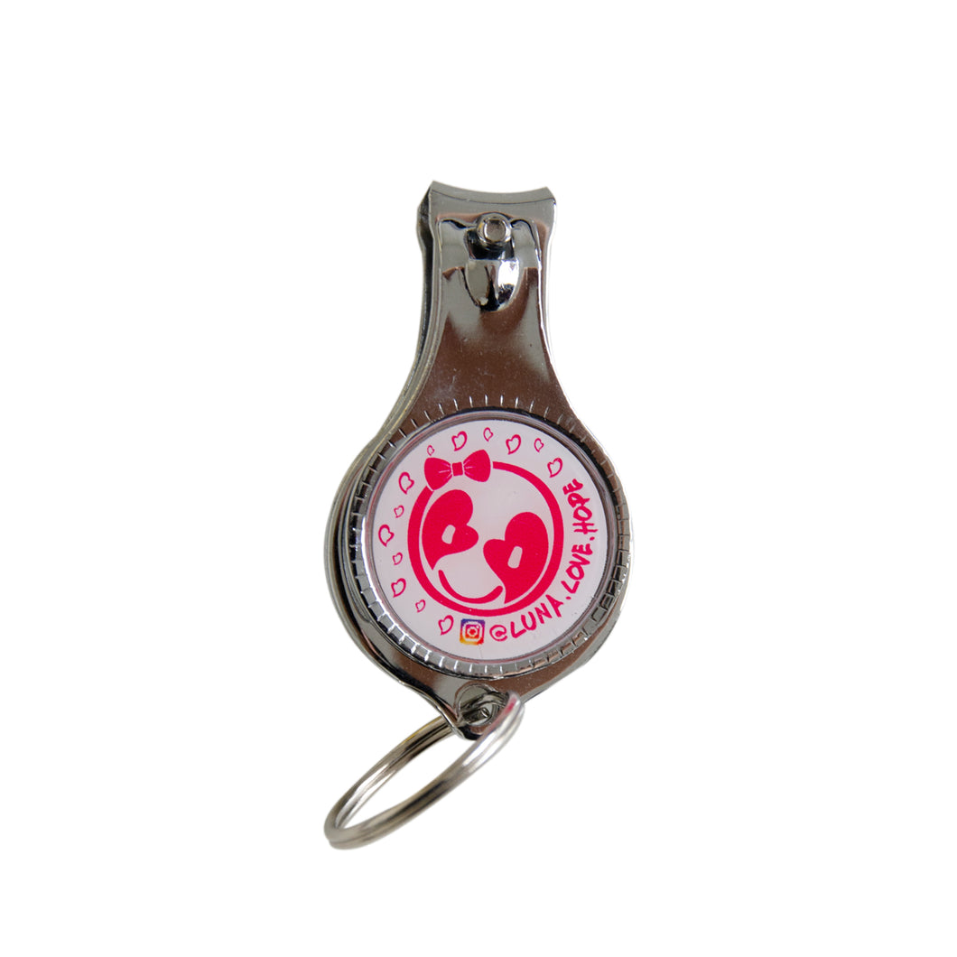 Nail Clipper and Bottle Opener Keychain