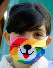 Load image into Gallery viewer, Children's Mask Rainbow