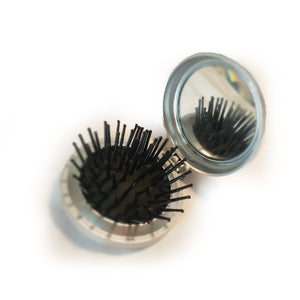 Mini-brush and mirror