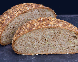 Wholemeal Sourdough with Mixed Seeds