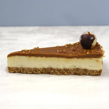 Load image into Gallery viewer, Caramel Crunch Cheesecake