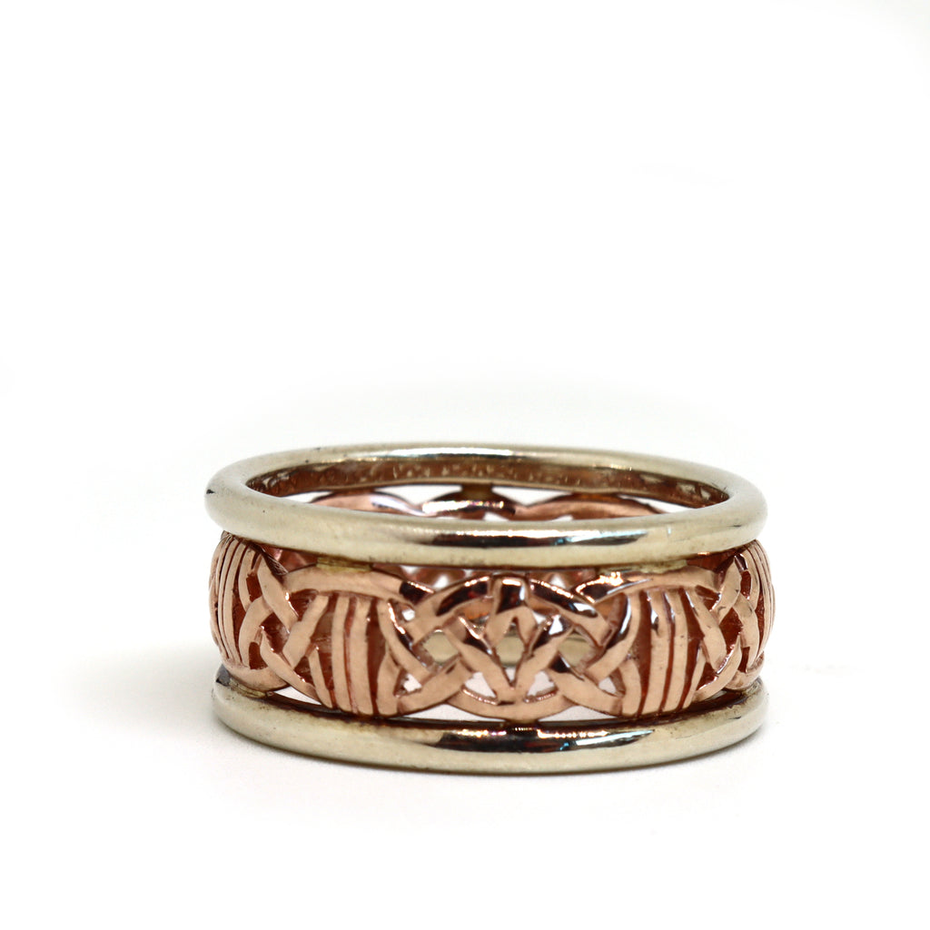 Two Tone Celtic Ring