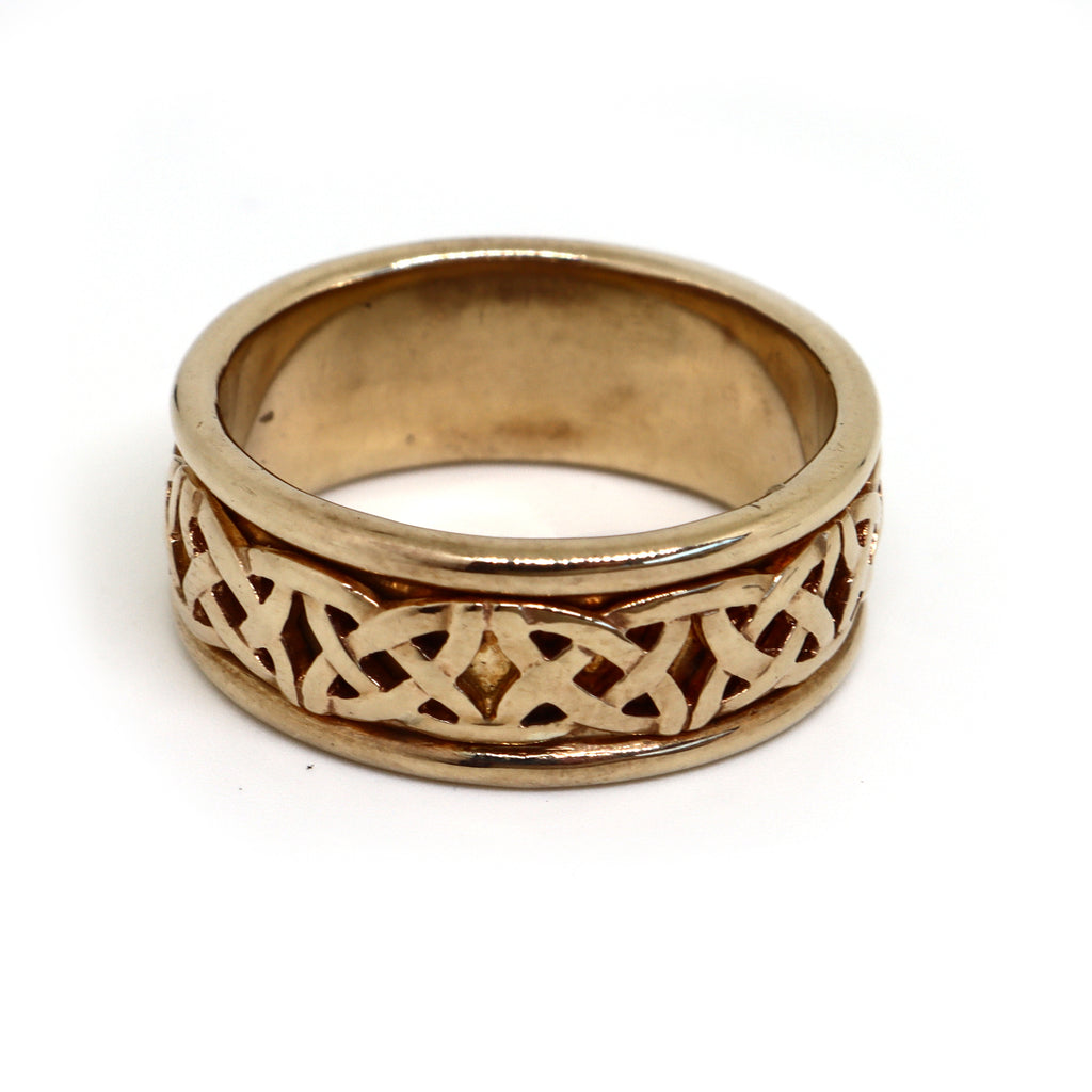 Celtic 9CT Ring