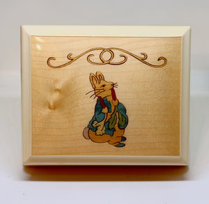 A Whole New World Music Box with Jewellery Compartment