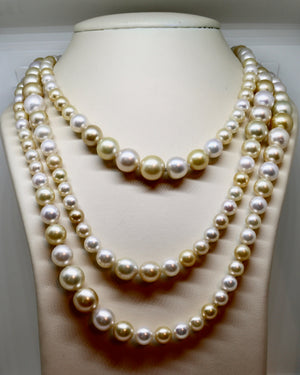 South Sea Pearl String Necklace