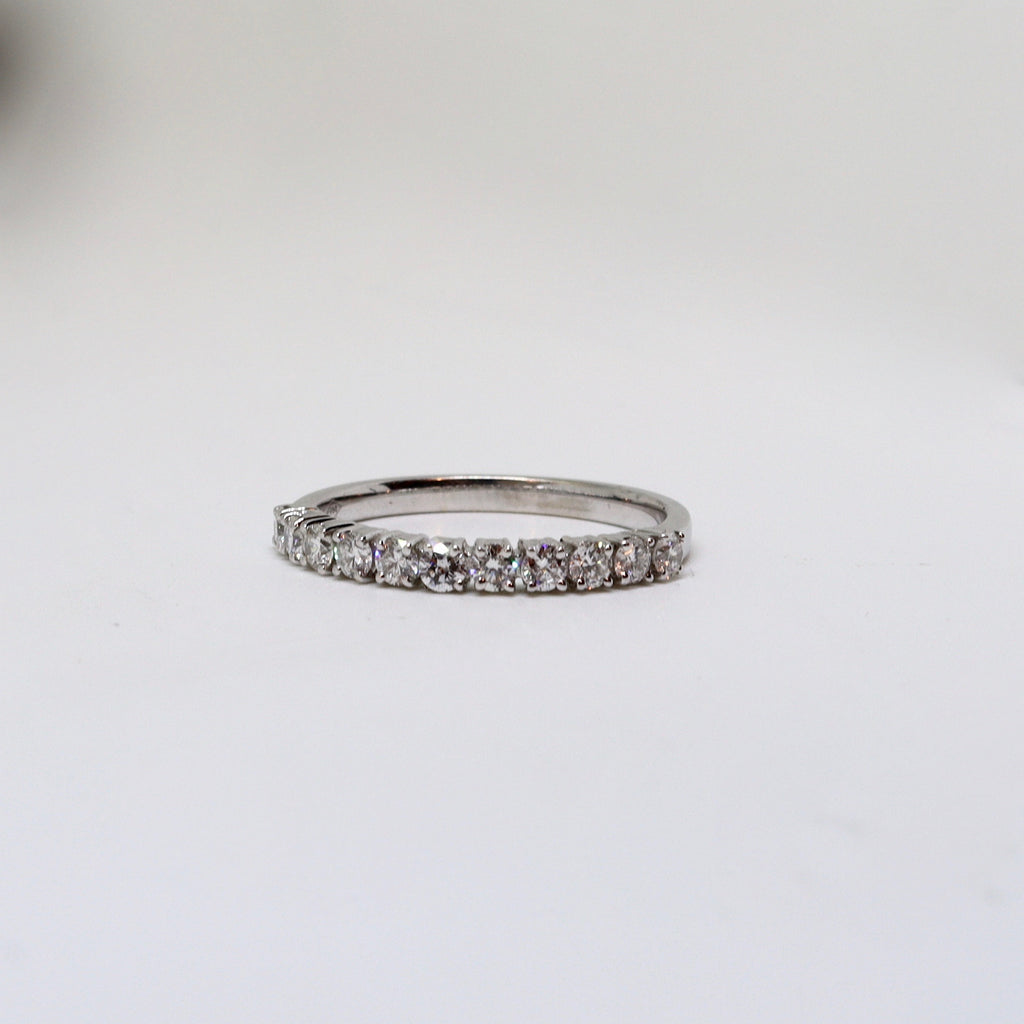 11 Stone diamond eternity band