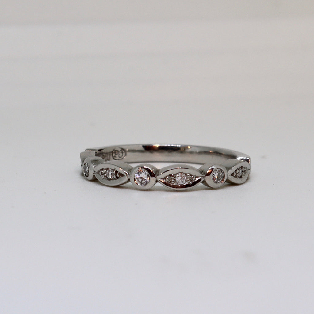 Intricate Diamond eternity band