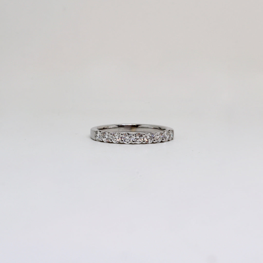 9 Stone Claw set Diamond Ring