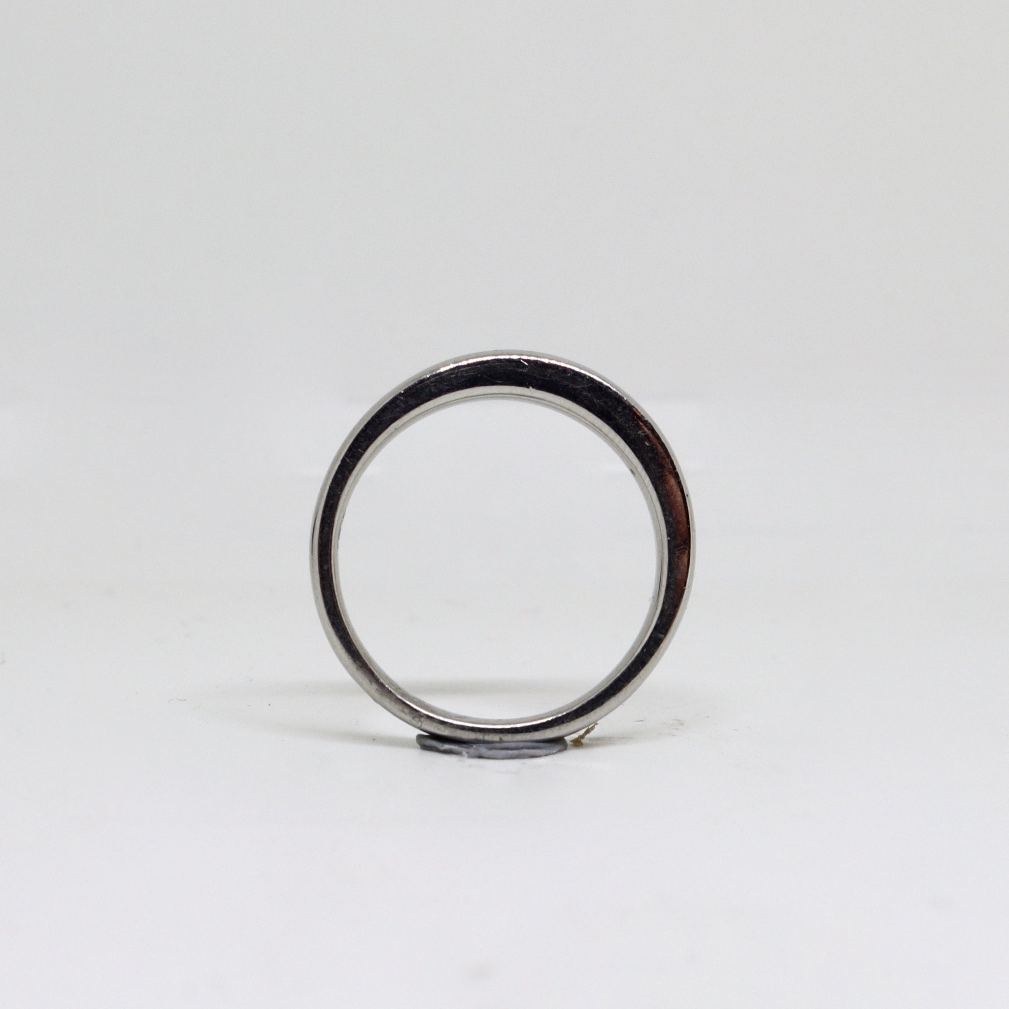 Platinum womens ring