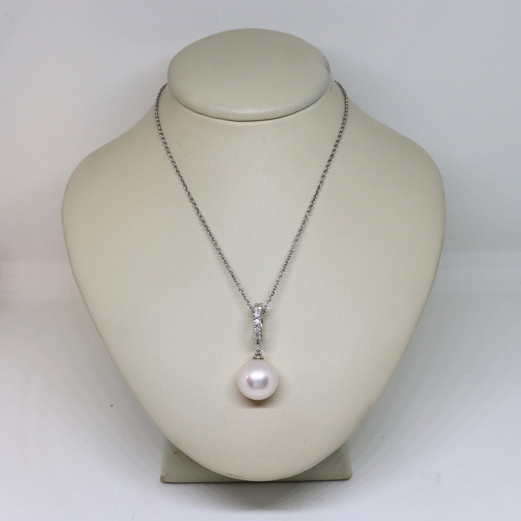 South sea pearl and diamond enhancer