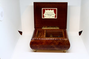 The 4 Seasons (Winter) A.Vivaldi Music Box with Jewellery Compartment